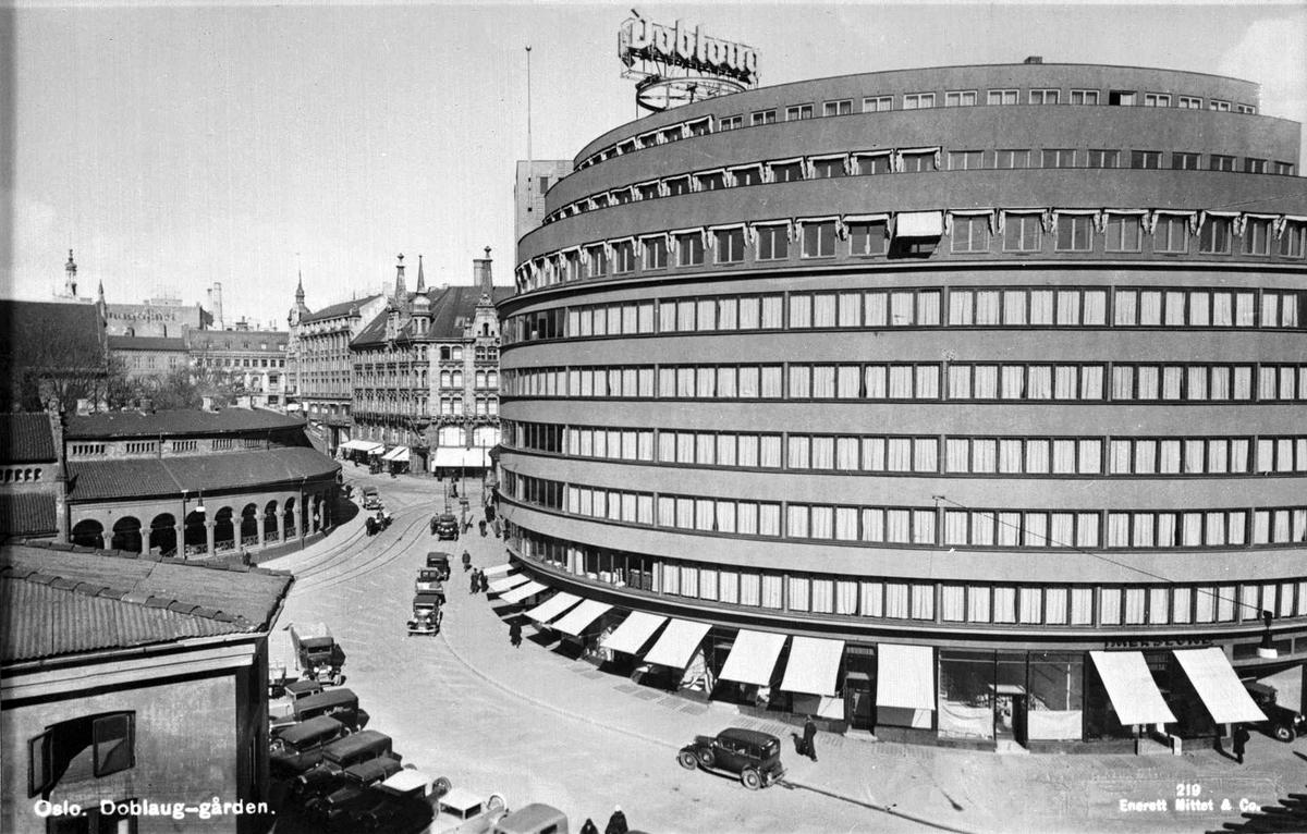 Nye og gamle Doblouggården.