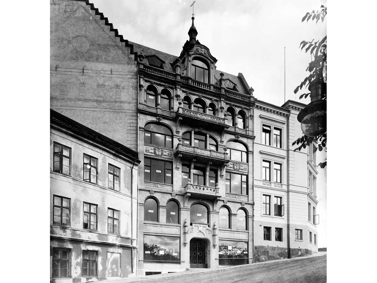rosenkrantz-gate-oslo-kristiania-vikia-forretningsgård-kvadraturen